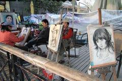 Van het het Westenmeer van China Culturele het Landschapsmening stock fotografie
