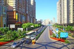 Van het hongqiaowesten van Shanghai de zhongshan weg van de binnenstad Royalty-vrije Stock Fotografie