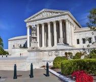 Van het Hooggerechtshofcapitol hill van de V.S. het Dagwashington dc stock fotografie