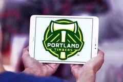 Van het het Houtvoetbal van Portland de Clubembleem royalty-vrije stock afbeeldingen