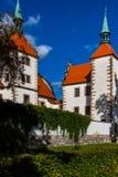 Van het kasteelbeneå ¡ ov van de staat nad PlouÄ  nicà in de Tsjechische Republiek stock foto
