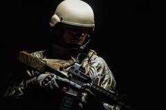 Van het Leger Speciale Krachten van de V.S. de Groepsmilitair Royalty-vrije Stock Afbeeldingen
