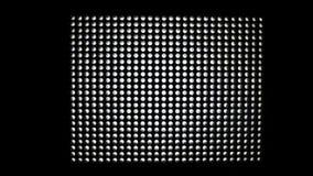 Van het LEIDENE de verlichtingsmateriaal lamppaneel stock videobeelden