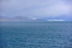 Van het Meerphumayumtso van Tibet de donkere wolken Royalty-vrije Stock Fotografie