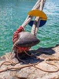 Van het meertrosmeerpaal en ongedierte kurken Royalty-vrije Stock Foto's