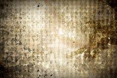 Van het metaal uitstekende textuur als achtergrond Stock Foto