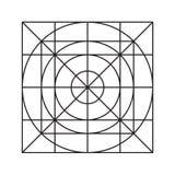 Van het netpictogram de minimale vectoreps10 reeks van het de stijlpictogram Stock Fotografie