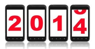 2014 van het nieuwe jaar Stock Fotografie