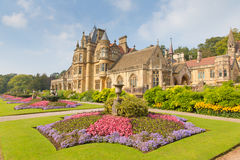 Van het noordensomerset england het UK van Wraxhall van het Tyntesfieldhuis het Victoriaanse herenhuis die mooie bloemtuinen kenm Royalty-vrije Stock Fotografie