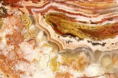 Van het onyx (agaat) de textuurachtergrond Stock Foto