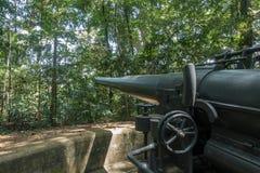 Van het het Parknatuurreservaat van Labrador het vroegere Fort Pasir Panjang, Singapore Royalty-vrije Stock Afbeelding