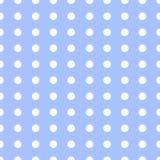 Van het patroon retro punten van Pasen het blauwe naadloze van de het ontwerppartij uitstekende kleurrijke behang van de de vakan Stock Afbeeldingen