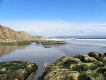 Van het punt de National Seashore kust van Reyes royalty-vrije stock foto's