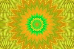 Van het regenboog bloemenpatroon bloem als achtergrond speels vector illustratie