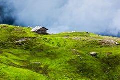 Van het sereniteits rustig eenzaam landschap concept als achtergrond stock afbeeldingen
