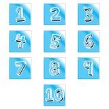 Van het Symboolaantallen van het calculatorteken het Pictogram Vectorillustratie Bureau, economie stock illustratie