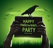 Van het vector de wapens de illustratieoverledene van Halloween van Royalty-vrije Stock Fotografie
