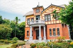 Van het het verhaalhuis van Taipeh de historische bouw in Taiwan Royalty-vrije Stock Foto's