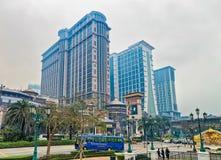 Van het Zandcotai van Macao Centrale het casinotoevlucht in Cotai-Strook royalty-vrije stock afbeeldingen