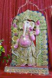 Van Hindoeïsmegoden en godinnen het standbeeld van Ganesha royalty-vrije stock afbeelding