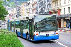 Van Hool AG300T royalty free stock photos