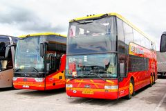 Van Hool TD927 Astromega Royalty Free Stock Photo