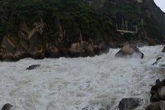 Van HU Tiao (Tijger die springt) de Kloof Stock Afbeelding