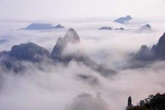 Van Huangshan (de gele) Berg Royalty-vrije Stock Fotografie