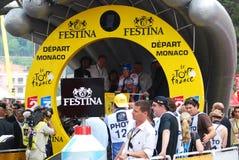 Van Hummel Kenny - excursione de France 2009 Fotos de Stock Royalty Free