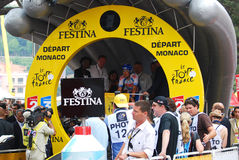 Van Hummel Kenny - Tour de France 2009 Fotos de archivo libres de regalías