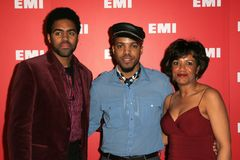 Van Hunt. And family at EMI's Post-Grammy Bash. Paramount Studios, Hollywood, CA. 02-08-06 Stock Photo