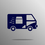 Van Icon illustration stock