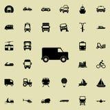Van Icon Transportez l'ensemble universel d'icônes pour le Web et le mobile illustration de vecteur