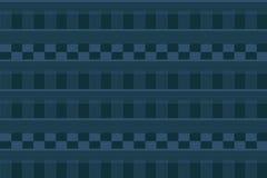 Van illustratielijnen en rechthoeken blauw Stock Fotografie