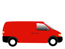 Van illustration Stock Images