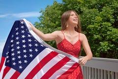 4 van Juli Stock Foto