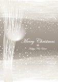 Van Kerstmis abstract licht grijs als achtergrond stock illustratie