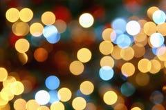 Van Kerstmis abstrakt achtergrond Stock Afbeelding