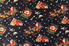 Van Kerstmis mooi patroon als achtergrond Stock Foto's