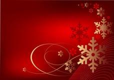 Van Kerstmis rode decoratie als achtergrond Royalty-vrije Stock Afbeeldingen