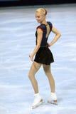 Van Kiira KORPI (VIN) het vrije schaatsen royalty-vrije stock afbeelding