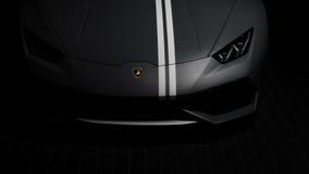 1 van 250 Lamborghini Huracan Avio Vooreind Stock Foto