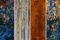 Van LD bruine abstracte textuur als achtergrond Royalty-vrije Stock Afbeeldingen