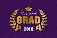 Van letters voorziende Klasse van 2018 Royalty-vrije Stock Afbeelding