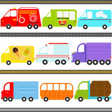 Van-/LKW-Fahrzeuge/Fracht-Transport Stockfotos