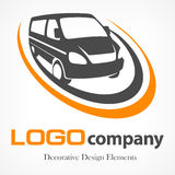 Van logotype Imagen de archivo libre de regalías