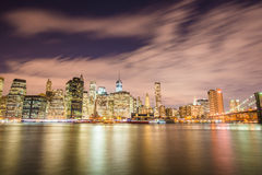 Van Manhattan in New York, de V.S. Royalty-vrije Stock Foto