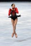 Van Mao ASADA (JPN) het vrije schaatsen stock foto's