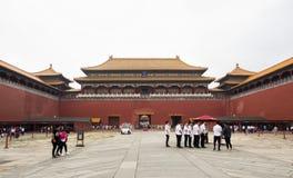 19 van Mei, 2018: De verboden Poort van het stadsoosten, Peking, China Royalty-vrije Stock Foto's