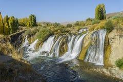 Van Muradiye Waterfalls Lizenzfreie Stockfotos